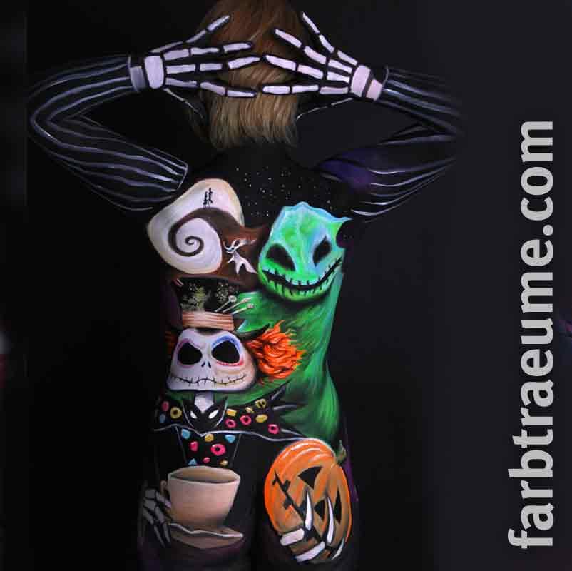 bodypainting-fanpainting-nightmare-before-christmas-bodypainting-studio-farbtraeume-lampertheim